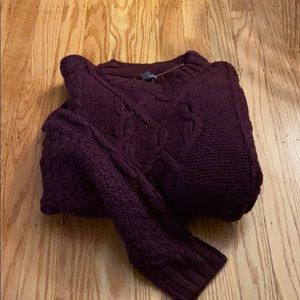 AERIE CABLE SWEATER.